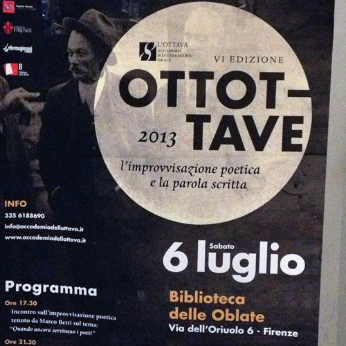 Ottottave 2013